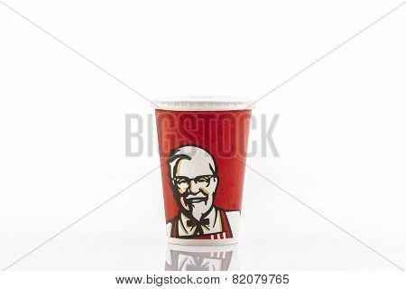 Paper Cups With Kfc Logo .