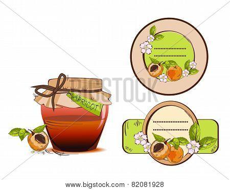 Apricot labels