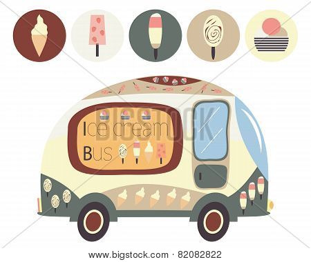 Ice cream bus