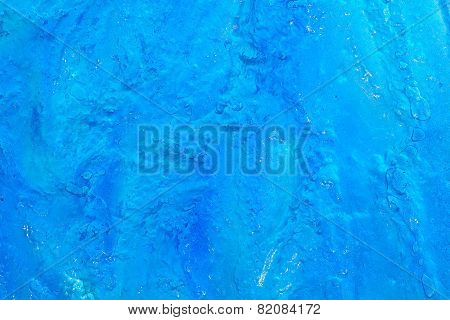 Texture Background Of Blue Ice