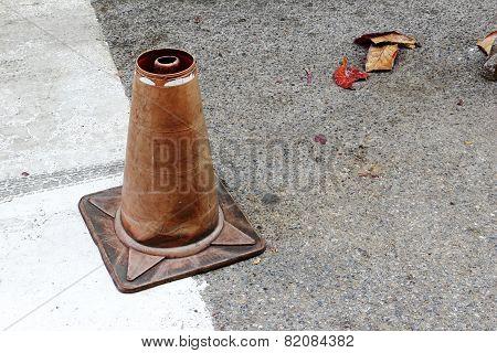 Broken Traffic Cone
