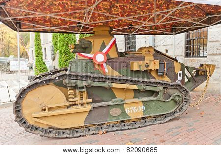 French Light Tank Renault Ft-17