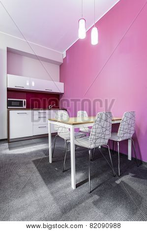 Pink Kitchenette