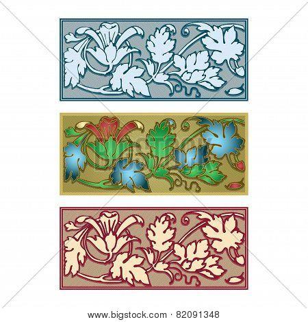 Decorative Herbal Border
