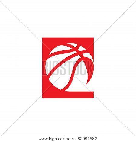 Basketball Abstract Sign