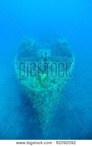 Ghostly Ship Wreck