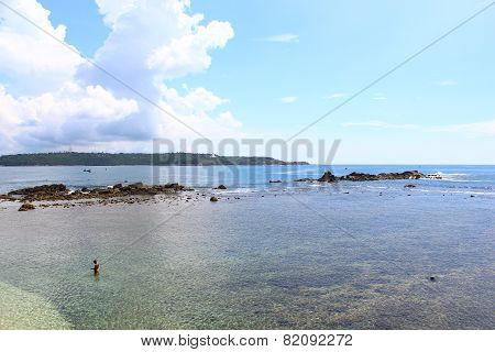 rocky Cape, Galle, Sri Lanka