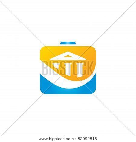 Finance Bank Portfolio Vector Sign
