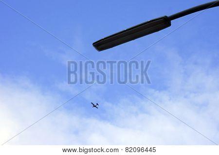 Lantern and aircraft