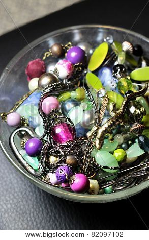 Mix Of Beautiful Vivid Accessories