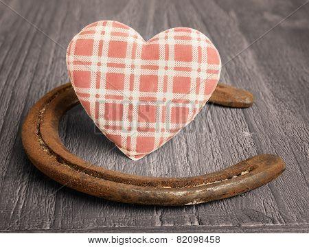 Heart And  Horseshoe