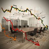 pic of collapse  - Collapse and decrease in profits in company - JPG