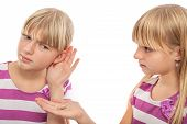 stock photo of hearing  - Solution for hearing problems  - JPG