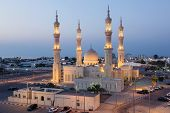 picture of emirates  - Zayed Mosque in Ras al - JPG