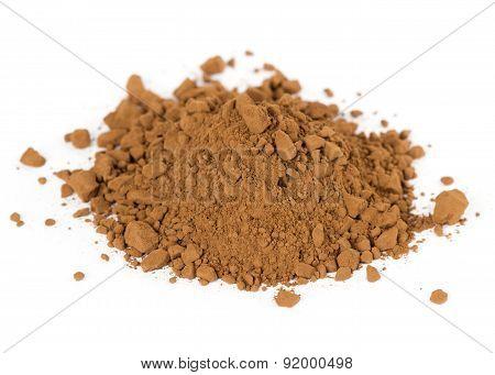 Heap Of Fresh Cocoa Powder