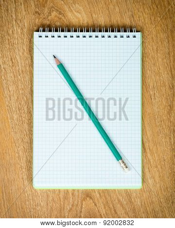 Notebook And Pensil