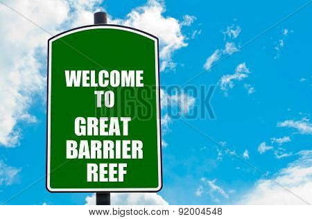 Welcome To Great Barrier Reef