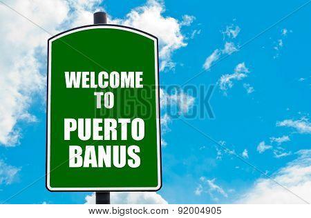 Welcome To Puerto Banus