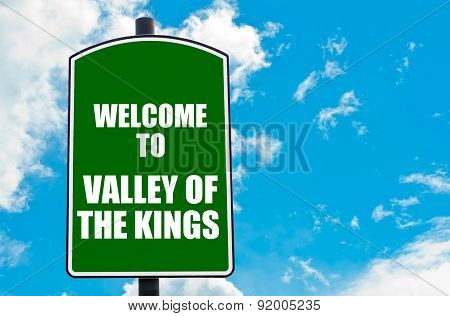 Welcome To Valley Of The Kings