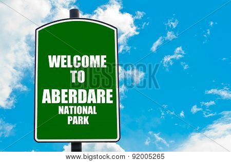 Welcome To Aberdare National Park