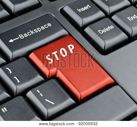 Keyboard Stop Key