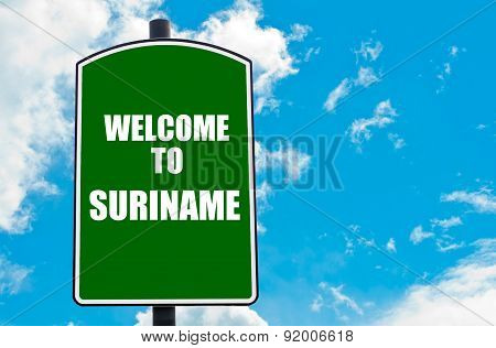 Welcome To Suriname