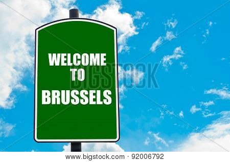 Welcome To Brussels