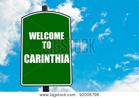 Welcome To Carinthia