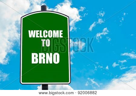 Welcome To Brno