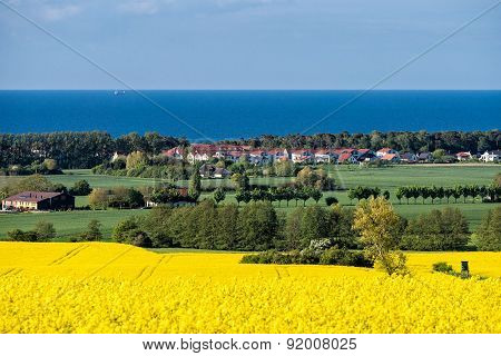 View To The Baltic Sea
