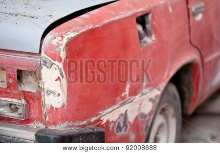 Repair Of The Old Car: Primer, Putty