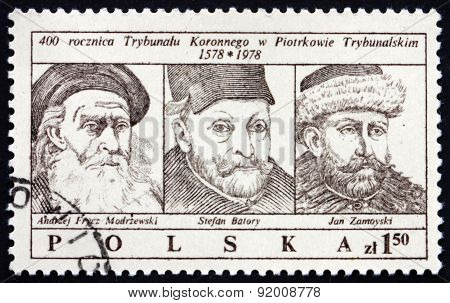 Postage Stamp Poland 1979 Royal Tribunal
