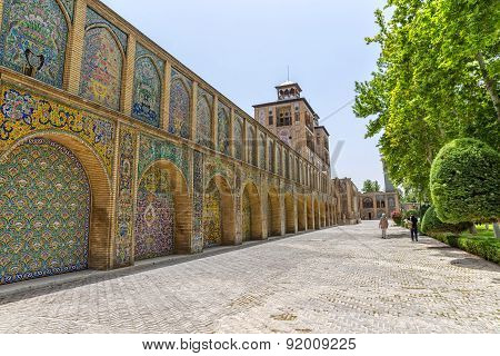 Golestan Palace Edifice of the Sun buildings