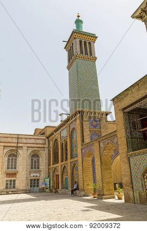 Golestan Palace Building of Windcatchers