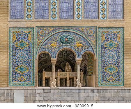 Golestan Palace building of Karim Khan of Zand