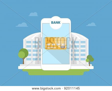 Bank mobile application