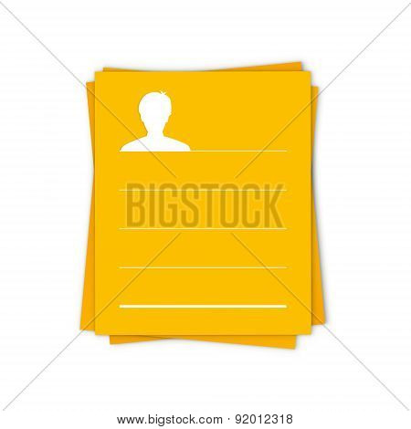 The Template With Head Icon