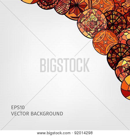 Hand Drawn Ethnic Background