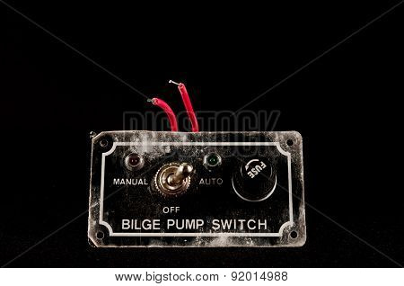 Grunge Switch Interruptor