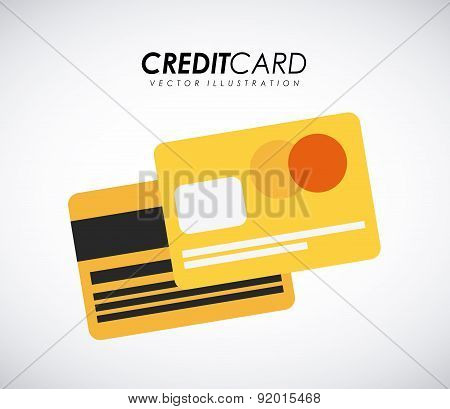 Money design over gray background vector illustration
