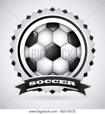 Sport design over gray background vector illustration