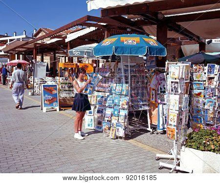 Tourist shops, Paphos.