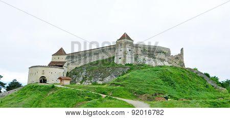 Rasnov Fortress Panorama