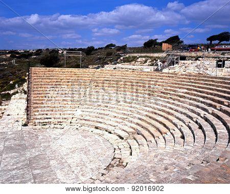 Roman theatre, Kourion.