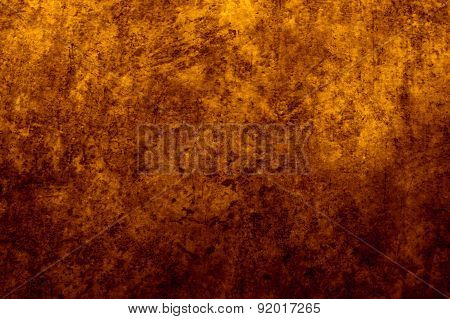 Earthy yellow and brown gradient background image and design element