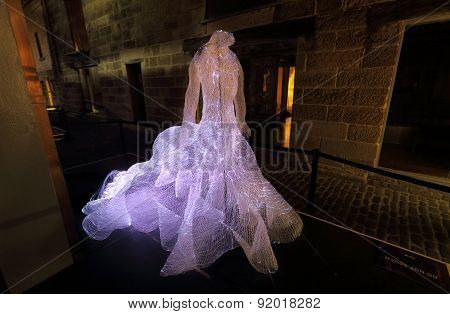 The Dresses In The Rocks At Vivid Sydney