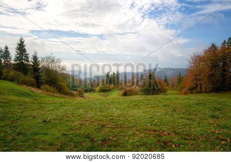 Countryside landscape.