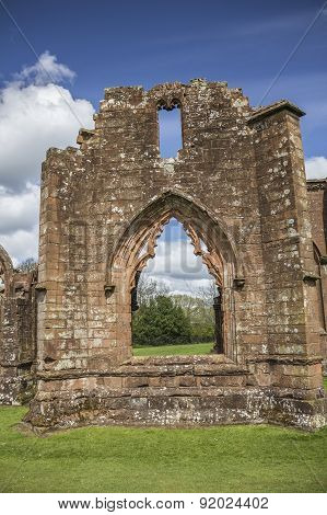 Lincluden Collegiate Church - South View Single Arch