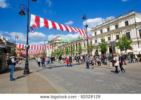 Krakowskie Przedmiescie Street, Warsaw