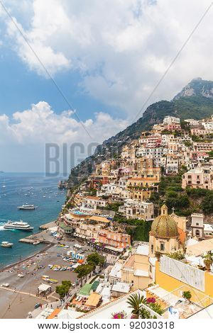 Beautiful View Of Positano